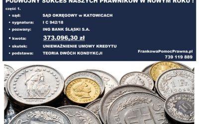 WYGRANA 373.096,30 ZŁ z ING BANK ŚLĄSKI S.A.
